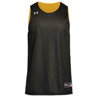 Under Armour Team Triple Reversible Double Jersey - Boys' Grade School - Black / Gold