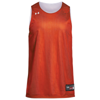 Under Armour Team Triple Reversible Double Jersey - Boys' Grade School - Orange / White