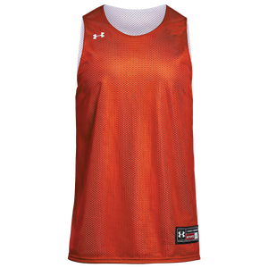Under Armour Team Triple Reversible Double Jersey - Boys' Grade School - Orange/White