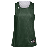 Under Armour Team Triple Double Jersey - Women's - Dark Green / White