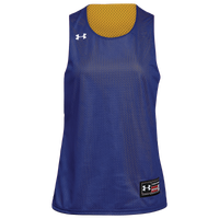 Under Armour Team Triple Double Reversible Jersey - Women's - Blue / Gold
