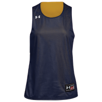 Under Armour Team Triple Double Reversible Jersey - Women's - Navy / Gold