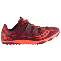 Saucony Carrera XC3 Flat - Women's - Maroon / Red