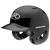 Rawlings S90PA Performance Rated Batting Helmet - Men's - Black / Black