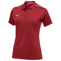 Nike Team Dry Elevated Polo - Women's - Red