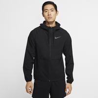 Nike Nike Pro Vent Max FZ Jacket - Men's - All Black / Black