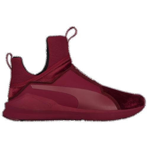 PUMA Velvet Creeper maroon shoes - AW LAB