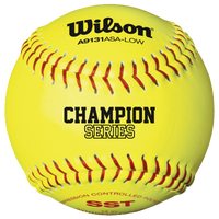 "Wilson Fastpitch 12"" Softball .47/375 - Yellow / Yellow"