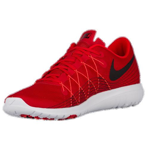 Nike Flex Fury 2 Men University Red/Black/Total Crimson/White Running Shoes