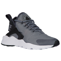 nike huarache run ultra black and white