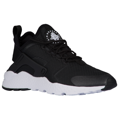 Nike Air Huarache Run Ultra - Women's - Casual - Shoes - Black/Black/Black/ White