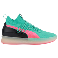 PUMA Clyde Court - Men's - Green / Pink