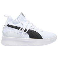 PUMA Clyde Court - Boys' Grade School - White