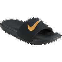 b190ab08097f Nike Kawa Slide - Boys' Grade School - Casual - Shoes - Black ...