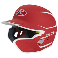 Rawlings Mach EXT 2 Tone Senior Batting Helmet - Men's - Red