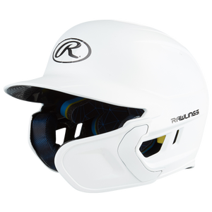 Rawlings Mach EXT Senior Batting Helmet - Men's - Matte White