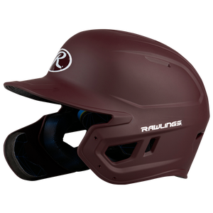 Rawlings Mach EXT Senior Batting Helmet - Men's - Matte Maroon