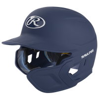 Rawlings Mach Ext Junior Batting Helmet - Grade School - Navy