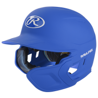 Rawlings Mach Ext Junior Batting Helmet - Grade School - Blue