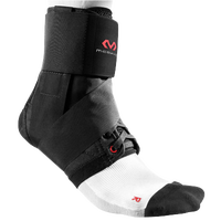 McDavid Ankle Brace w/Straps - All Black / Black