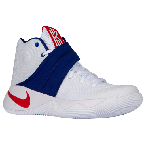 Nike Kyrie 2 - Men's - Basketball - Shoes - USA - Irving, Kyrie -  White/University Red/Deep Royal Blue