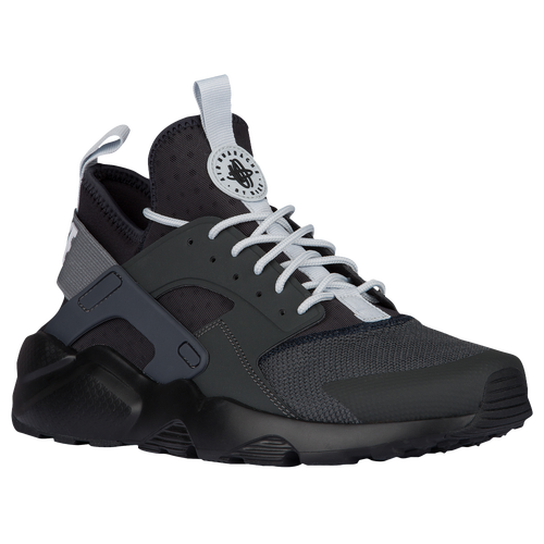 Nike Air Huarache Run Ultra - Men's - Grey / Black