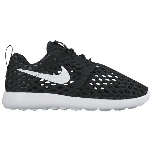 Nike Roshe Run Flight Weight - Boys' Preschool - Running - Shoes -  Black/White