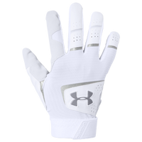 Under Armour Clean-Up Batting Gloves - Men's - White