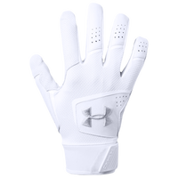 Under Armour Yard 19 Batting Gloves - Men's - White
