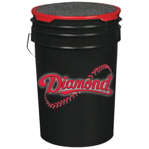 Diamond Ball Bucket - Black