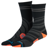 Stance Uncommon Lite Run Crew - Men's - Black / Grey