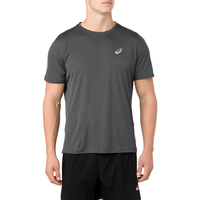 ASICS® Silver Short Sleeve T-Shirt - Men's - Grey