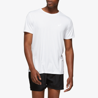 ASICS® Silver Short Sleeve T-Shirt - Men's - White