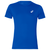 ASICS® Silver Short Sleeve T-Shirt - Men's - Blue