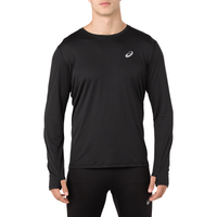 ASICS® Silver Long Sleeve Top - Men's - Black