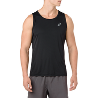 ASICS® Silver Singlet - Men's - Black