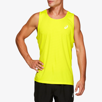 ASICS® Silver Singlet - Men's - Yellow