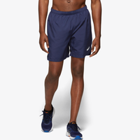 "ASICS® 7"" Silver Shorts - Men's - Navy"