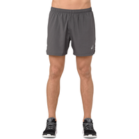 "ASICS® 5"" Silver Shorts - Men's - Grey"