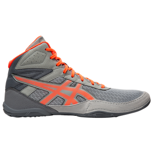 ASICS® Matflex 6 - Men's - Stone Grey/Flash Coral