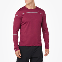 ASICS® Lite-Show Long Sleeve Top - Men's - Maroon