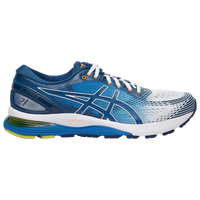 ASICS® GEL-Nimbus 21 - Men's - Blue / White
