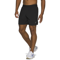 "ASICS® Road 7"" Running Shorts - Men's - Black"