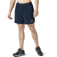"ASICS® Road 7"" Running Shorts - Men's - Navy"