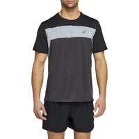 ASICS® Race Running Top - Men's - Grey / Black