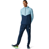 ASICS® Visibility Running Jacket - Men's - Blue / Navy