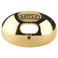 Battle Sports Oxygen Mouthguard - Adult - Gold / Gold