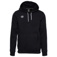 Umbro Check Tape Pullover Hoodie - Men's - Black