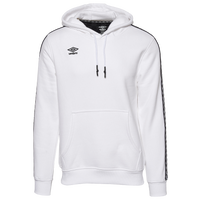Umbro Check Tape Pullover Hoodie - Men's - White