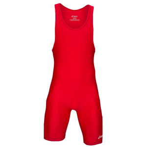 ASICS® Solid Modified Singlet - Men's - Red